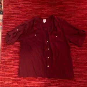 Button up blouse